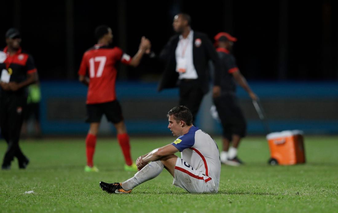 Trinidad and Tobago US Wcup Soccer